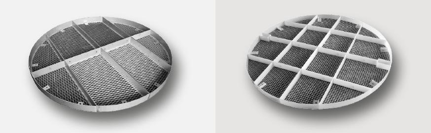 Niederhalterost HP-1 Metall und Kunststoff