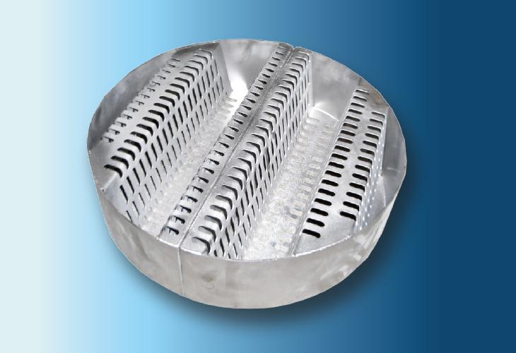 Multibeam Tragrost Type SP-2 and SP-3, 100 mm < Ø < 1200 mm für Metall- und Kunststoffpackungen