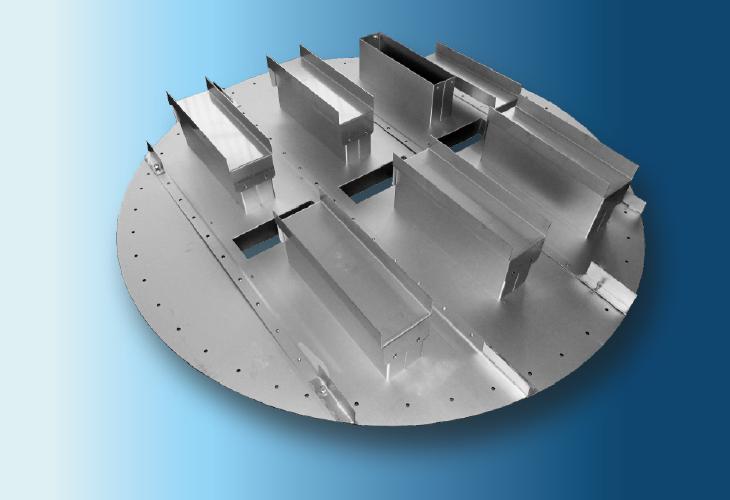 Flüssigkeitssammler Type CP-2 Ø > 300 mm