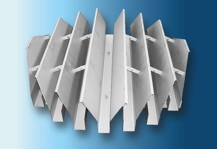 Flüssigkeitssammler Type CV-1 Ø > 800 mm